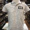 สตาร์วอร์ เสื้อโปโล-คอปก สีขาว (POLO Starwars white CODE:1013)