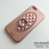 เคส iPhone 6/6s Plus แหวนเพชร ตั้งได้ สีโรสโกล์ด BKK