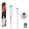 สายชาร์จ Full Speed (Micro USB) 1เมตร Remax สีขาว