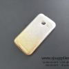 เคส Samsung J1 mini กากเพชรไล่สี 2 ชั้น สีทอง