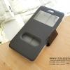 เคส iPhone7 Plus ฝาพับ สีดำ