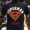 ซุปเปอร์แมน สีกรมม่วง (Superman logo navy purple CODE:0743)