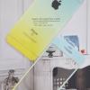 ฟิล์มกระจก iPhone6/6s ลายกากเพชรไล่สี