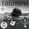 หัวชาร์จในรถ 2.4A (WP-C02-Triumph,2USB ) สีดำ WK