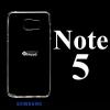 เคส Samsung Note5 ซิลิโคน สีใส