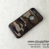 เคส iPhone7 ลายทหาร สีน้ำตาล