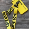 เคส Oppo R9s สายเลิฟ สีเหลือง BKK