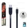 สายชาร์จ Full Speed i5/i6/i7 (Lightning) 2เมตร Remax สีดำ