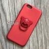 เคส iPhone 7 เพชรล้อมแหวนหมี สีแดง BKK