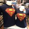 ซุปเปอร์แมน สีกรม (Superman blue logo red 938)