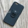 เคส iPhone 6/6s เพชรล้อมแหวนหมี สีดำ BKK