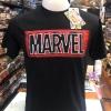 มาร์เวล สีดำ (Marvel black logo black1287)