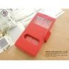 เคส Oppo Mirror5 ฝาพับ สีแดง