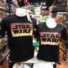 สตาร์วอร์ สีดำ (Starwars logo square CODE:1114)