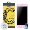 ฟิล์มกระจก REMAX iPhone6/6S COLOR สีชมพู