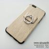 เคส Samsung J2 แหวนลายไม้ สีครีม BKK