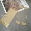 ฟิล์มกระจก iPhone6/6s ลายเพชร สีทอง