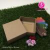 K1-01-001 : กล่องสบู่ แบบซองสวม ขนาด 7.5 x 7.5 x 3.0 ซม