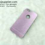 เคส iPhone6/6s INO METAL สีชมพู