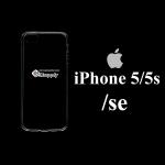 เคส iPhone5/5s/SE ซิลิโคน สีใส