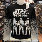 สตาร์วอร์ แขนยาว (Storm Trooper black arm White)