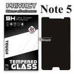 ฟิล์มกระจก Samsung Note5/N920F (Privacy) (ฟิล์มกันเสือก)