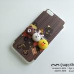 เคส iPhone 7 หมีนูน สีน้ำตาล BKK