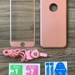 เคส Samsung J2 ประกบฟิล์มกระจก + สาย สีชมพู BKK