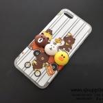 เคส Samsung J7 หมีนูน สีขาว BKK