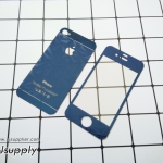 ฟิล์มกระจก iPhone4/4s ลายเพชร สีน้ำเงิน