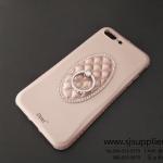 เคส iPhone 7 Plus แหวนเพชร ตั้งได้ สีทอง BKK