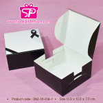 DN2-01-014-1 : กล่อง Snack ขนาด 13.0 x 13.0 x 7.0 ซม.