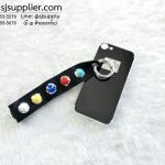 เคส iPhone 7 เงามีสาย สีดำ