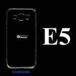 เคส Samsung E5 ซิลิโคน สีใส