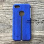 เคส Samsung J7 Prime ลายเนื้อไม้ สีน้ำเงิน BKK