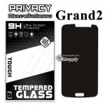 ฟิล์มกระจก Samsung Grand 2 (Privacy) (ฟิล์มกันเสือก)