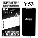 ฟิล์มกระจก Vivo Y53 Privacy (ฟิล์มกันเสือก)