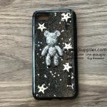 เคส iPhone 7 หมีอวกาศสีเงิน เคสดำ BKK