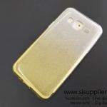 เคส Samsung J2 กากเพชรไล่สี สีเหลือง