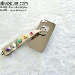 เคส iPhone 7 เงามีสาย สีทอง