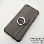 เคส Samsung J2 Prime แหวนลายไม้ สีเทา BKK