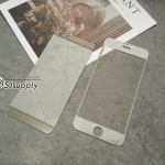 ฟิล์มกระจก iPhone6/6s ลายเพชร สีเงิน