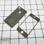 ฟิล์มกระจก iPhone4/4s ลายเพชร สีดำ