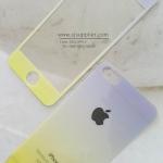 ฟิล์มกระจก iPhone6/6s plus ลายกากเพชรไล่สี