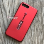 เคส iPhone 7 กันกระแทกแหวนสาย สีแดง BKK