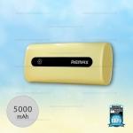 พาวเวอร์แบงค์ Remax 5000mAh E5 สีเหลือง