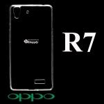 เคส Oppo R7 ซิลิโคน สีใส