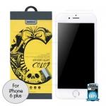 ฟิล์มกระจก iPhone6/6s Plus REMAX COLOR สีขาว