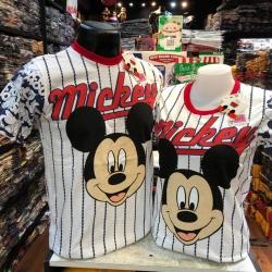 มิกกี้เมาส์ สีเขา (Mickey face baseball white CODE:1135)