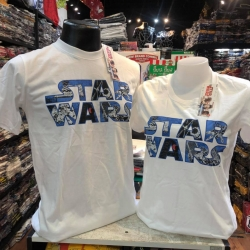 สตาร์วอร์ สีขาว (Star wars white logo CODE:1254)